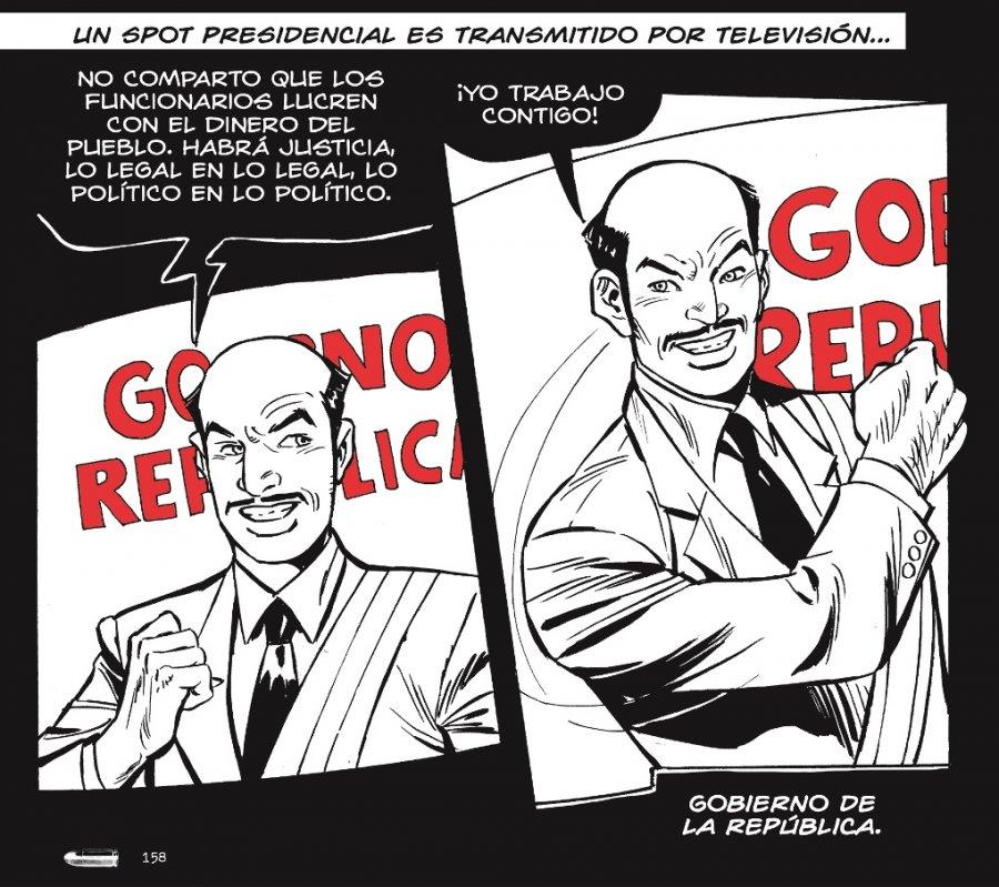 La impunidad en comic